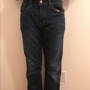 Blue Levi 514 Jeans. 32x32 Straight leg. 9f869882ffb2
