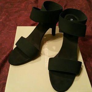 Naturalizer Shoes - Naturalizer Hall black fabric sandals