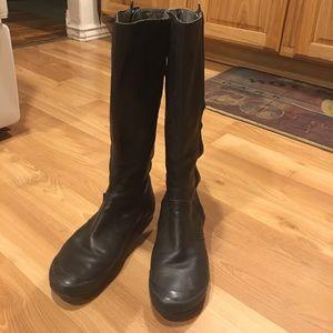 Palladium Shoes - Palladium tall boots black leather size 8M