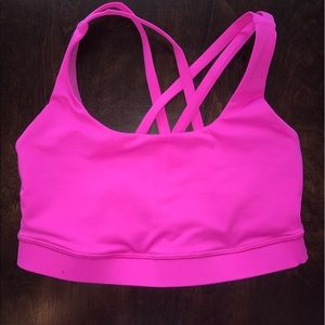 lululemon athletica Other - Lululemon hot pink sports bra size 2