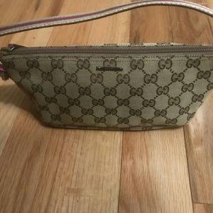 Gucci Handbags - Gucci pochette bag 100% Auth. Excellent Condition
