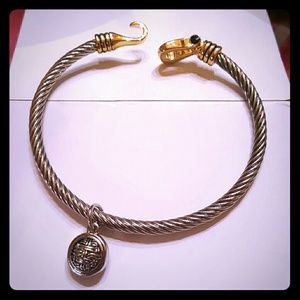2xist Jewelry - Gold plated cable Bracelet