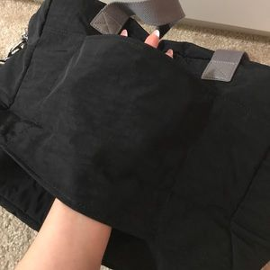 Kipling Bags - Kipling Sasha Large side bag black and grey