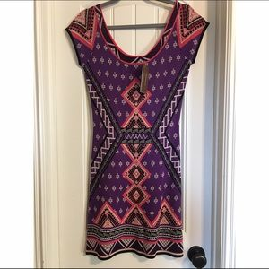 Franchesca's Aztec Sweater Dress