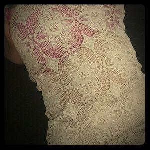 American Vintage Dresses & Skirts - American Vintage crochet dress M
