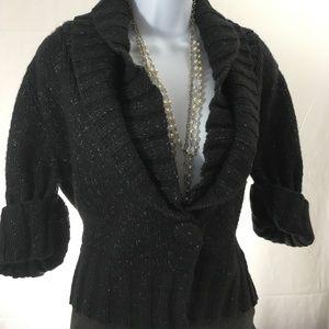 Daisy Fuentes Sweaters - ❤️ Daisy Fuentes Sweater Cardigan Wood blend sz XL