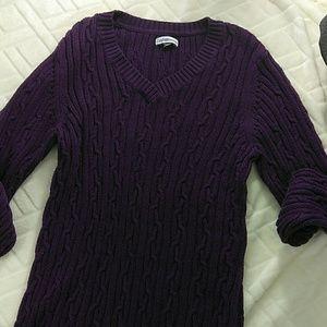 croft & barrow Other - ❤ Croft & Barrow Men's V- neck Cotton Sweater EUC
