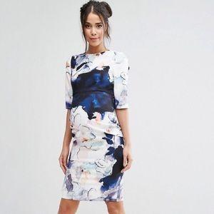 Little Mistress Dresses & Skirts - Little Mistress Maternity Floral Pencil dress
