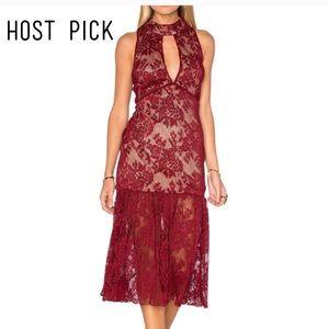 Endless Rose Dresses & Skirts - ❌NO OFFERS❌STUNNING SLEEVELESS LACE HIGHNECK DRESS
