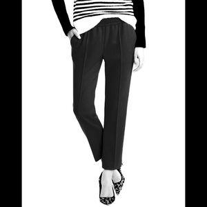 J.Crew Tailored Wool Pant - Sz. 0 - Black