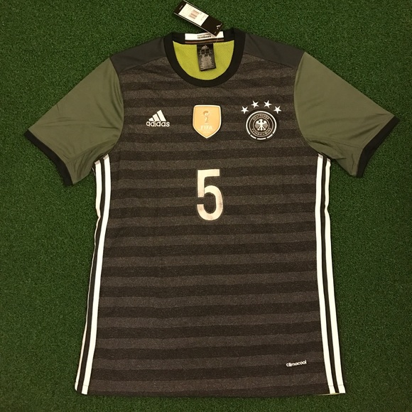 26a7c847f49e Germany Soccer Jersey HUMMELS  5 World Cup