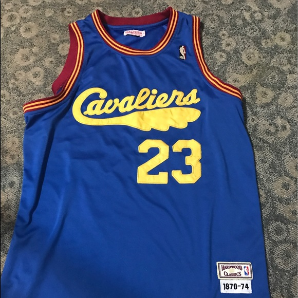 finest selection 7a938 c85fc Rare Lebron James Classic Jersey Hardwood Classic