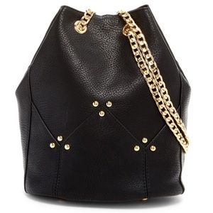 Maisie Bucket Crossbody - Black