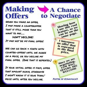 Make an offer tips!