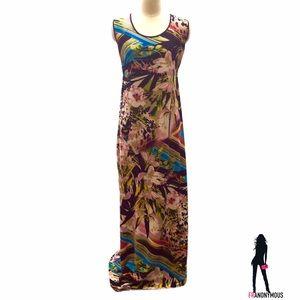 Milano Dresses & Skirts - Plus- Sleeveless Multi Stretch Maxi-Dress XL