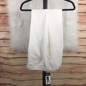 Larry Levine Pants - Larry Levine white slacks (new with tags)