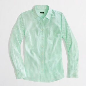 J. Crew Haberdashery Stretch Button Up Shirt