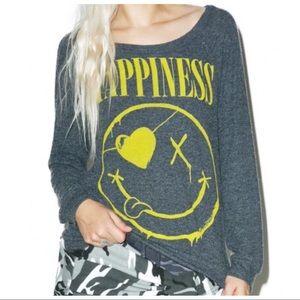 Lauren Moshi    HAPPINESS    Breanna Pullover grey