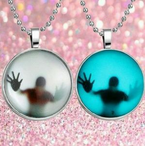 Jewelry - Glow in the Dark Stainless Steel Pendant Necklace