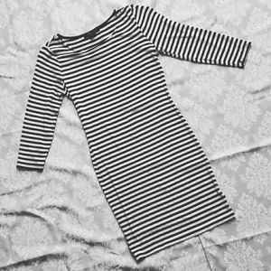 Forever 21 Dresses & Skirts - F21 Striped Bodycon Dress
