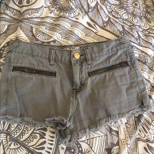 Free People Pants - Grey Free People Shorts