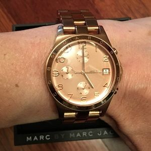 "Marc Jacobs ""Henry"" Watch"