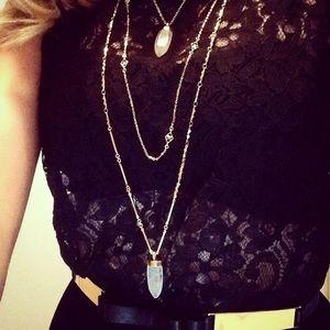 Stella & Dot Jewelry - Stella & Dot Aria Quartz Necklace