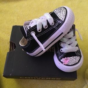 Kids  Converse Bling Shoes on Poshmark 6eff46e23