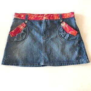 D&G Dresses & Skirts - Dolce & Gabbana denim mini skirt size 6