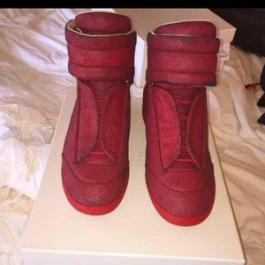 Maison Margiela Other - Mens maison margiela 12 us CRACKLED RED LEATHER