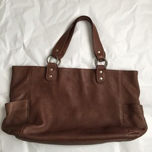 Garnet Hill  Handbags - Garnet Hill Large leather bag!
