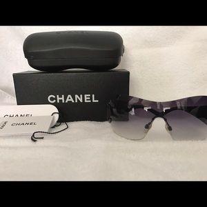 Authentic Chanel frameless sunglasses