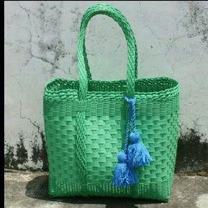 Ketzali Handbags - Handwoven Basket
