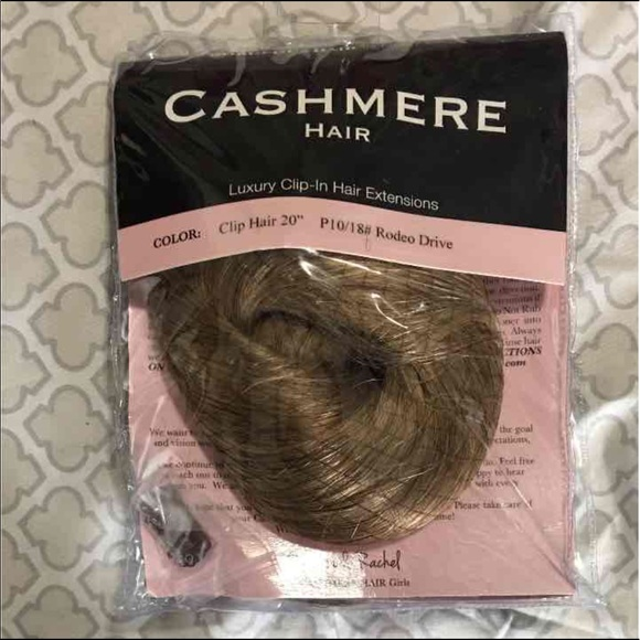 Cashmere Hair Accessories Cashmere Clip In Hair Extensions Rodeo