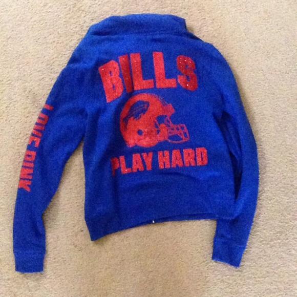 buffalo bills pink sweatshirt