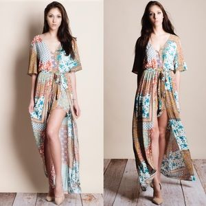 Bare Anthology Dresses & Skirts - xx Printed Maxi Romper