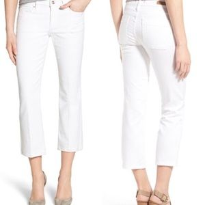 Sanctuary Denim - Sanctuary White Cropped Jeans