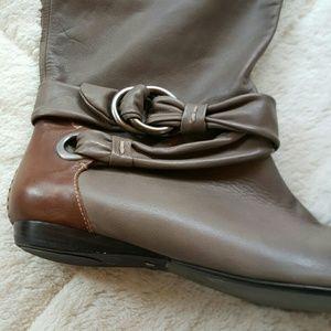 b. makowsky Shoes - B Makowsky Leather Upper Boot