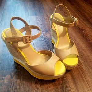 Sbicca Shoes - Cute summer wedges!