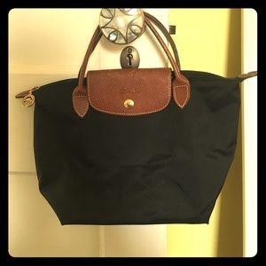 Longchamp Handbags - Longchamp 'Medium Le Pliage' Tote in black