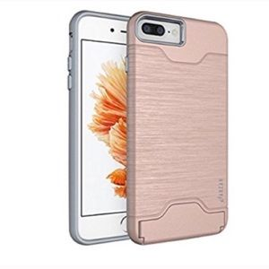Iphone 7/ 7 plus case with card slot