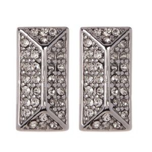 Rebecca Minkoff Jewelry - Rebecca Minkoff Rectangle Stud earrings NWT