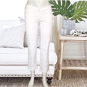 7 For All Mankind Denim - 🌴Host Pick🌴7 FAM White Bootcut Crop Jeans