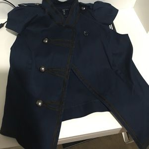 she said Tops - Military style jacket:blouse