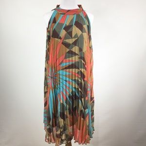 Ashley Stewart Dresses & Skirts - ASHLEY STEWART PLEATED SWING DRESS