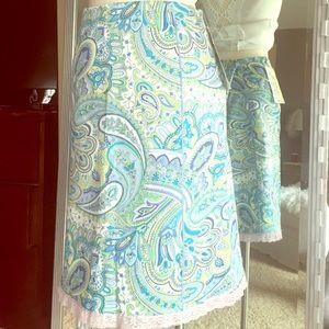 NYC Design Co Dresses & Skirts - 🐳 💙Paisley Skirt 🌸🐳