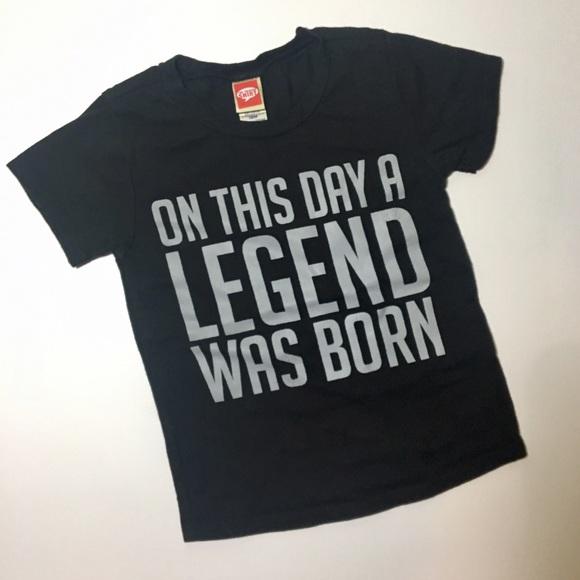 Baby Boy 1st Birthday Legend Tee Shirt M 58f4f967620ff729bb11be54