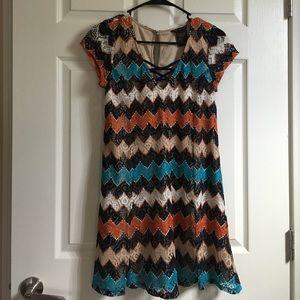 Xtraordinary Dresses & Skirts - Zig-zag dress