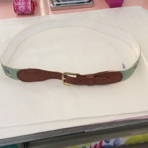 Preston Leather Products belt