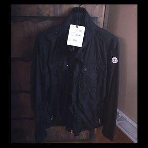 Moncler Other - MENS moncler black zip up windbreaker size 5